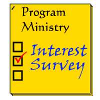 Click here for program ministry survey